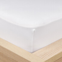 4Home Jersey lepedő elasztánnal fehér
