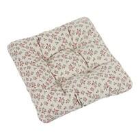 Sedák Ivo ružička ružovo sivá, 40 x 40 cm, súprava 2 ks