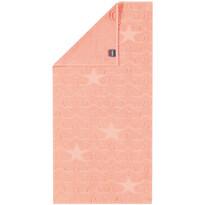 Cawö Frottier ręcznik Star łososiowy, 50 x 100 cm