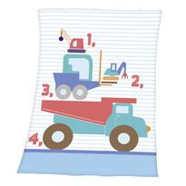 Dětská deka Fynn Cars, 75 x 100 cm