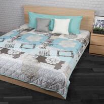 Lace ágytakaró türkiz