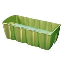 Balkónový truhlík na zábradlie Zelená 18 l