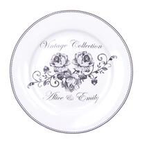 Dezertní talíř Emily 19 cm, květiny