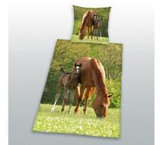 Bavlnené obliečky Kone, 70 x 90 cm, 140 x 200 cm