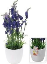 Umělá levandule v keramickém květináči