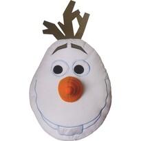Polštářek Olaf Ledové království Frozen, 40 cm