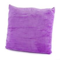 Vankúšik Mikroplyš fialová, 40 x 40 cm