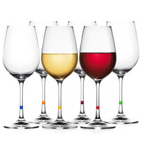 Tescoma UNO VINO borospohár készlet 350  ml, 6 darab