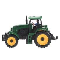Tractor verde închis, 20 cm