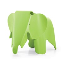 Detská sedačka EEL Eames Elephant, tmavá limeta