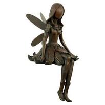 Záhradná dekorácia Anjel, bronzová