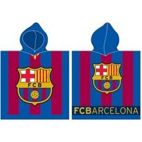 Poncho copii FC Barcelona stripes, 50 x 100 cm