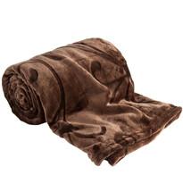 Koc Kaszmir brązowy, 150 x 200 cm