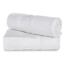Komplet ręczników bambus Hanoi biały