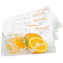 Prostírání Pomeranč, 43 x 28 cm, sada 4 ks