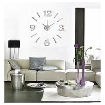 Ceas de perete StarDeco, argintiu mat, diam. 60 cm