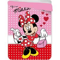 Detská prešívaná prikrývka Minnie Mouse, 180 x 260 cm