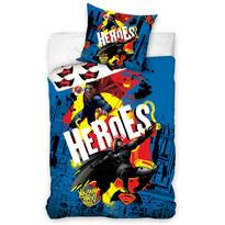 Dětské bavlněné povlečení Batman vs. Superman - Heroes, 140 x 200 cm, 70 x 90 cm