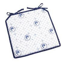 Sedák Country bodka modrá, 40 x 40 cm