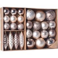Sada vianočných ozdôb Terme medená, 31 ks