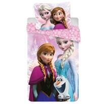 Detské obliečky Ľadové kráľovstvo Frozen pinkmicro 2016, 140 x 200 cm, 70 x 90 cm