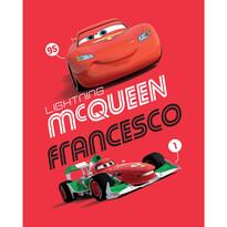 Koc dziecięcy Cars Francesco 2014, 120 x 150 cm