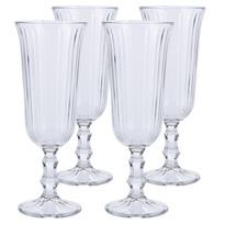EH Sada pohárov na sekt Excellent 120 ml, 4 ks