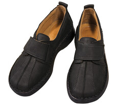 Orto Plus Dámská obuv na suchý zip vel. 36, černá