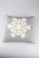 Povlak na polštářek Snowflake šedá, 40 x 40 cm
