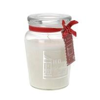 Vonná sviečka v skle Morlais biela, 14,5 cm