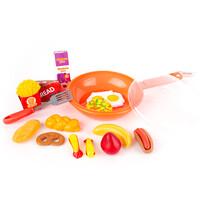 Detský hrací set Panvička oranžová, 30 cm