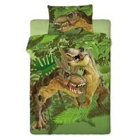 Bavlnené obliečky Dinosaurus 2016, 140 x 200 cm, 70 x 90 cm