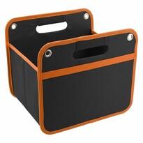 Składany organizer do bagażnika Orange, 32 x 29 cm