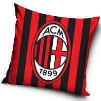 Poduszka jasiek AC Milan Stripes, 40 x 40 cm