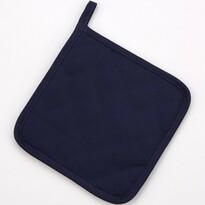 Kuchyňská podložka tmavě modrá, 18 x 18 cm
