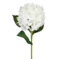 Umelá kvetina Hortenzia, biela
