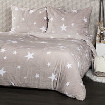 Lenjerie pat 1pers. 4Home Stars Grey