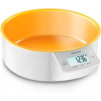 Cântar de bucătărie Sencor SKS 4004OR, portocaliu