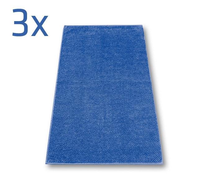 Ručník s.Oliver, tmavě modrá,  sada 3 ks, 50 x 100 cm