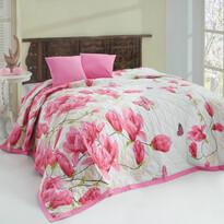 Cuvertură Alize pink, 220 x 240 cm, 2x 40 x 40 cm