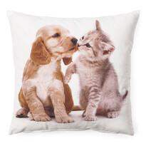 Poszewka na poduszkę Szczeniak i kociak 4, 40 x 40 cm