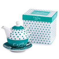 3dílná čajová souprava Enjoy Turquis