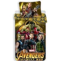 Bavlněné povlečení Avengers Infinity War, 140 x 200 cm, 70 x 90 cm