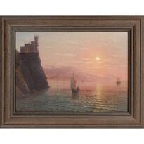 Obraz reprodukcja Romantyka, 22 x 17 cm