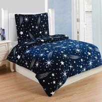 Povlečeni mikroplyš Galaxy, 140 x 200 cm, 70 x 90 cm