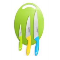 Set bucătărie CS Solingen  tocător cu 3 cuţite