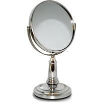 Obojstranné kozmetické zrkadielko Lifetime Beauty, strieborná