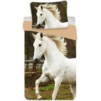 Bavlnené obliečky White horse, 140 x 200 cm, 70 x 90 cm