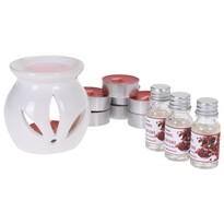 Sada sviečok a aromalampy Sentir Pomegranate, 12 ks