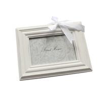 Ramă foto de perete, albă, 9 x 13 cm